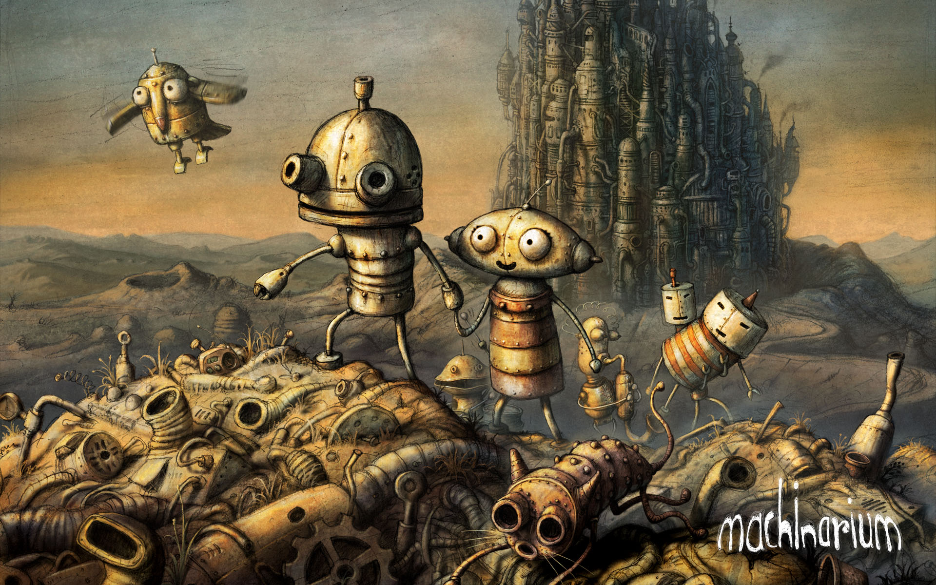 Review | Machinarium