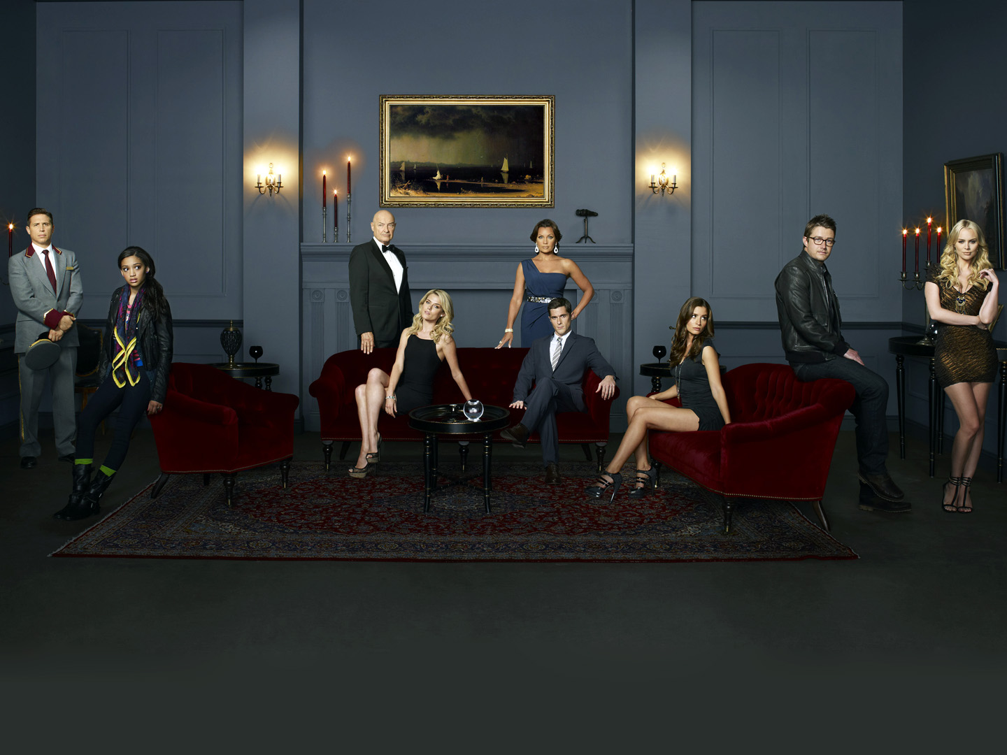 ERIK PALLADINO, SAMANTHA LOGAN, TERRY O'QUINN, RACHAEL TAYLOR, VANESSA WILLIAMS, DAVE ANNABLE, MERCEDES MASOHN, ROBERT BUCKLEY, HELENA MATTSSON