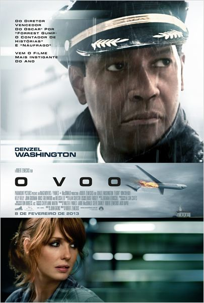 o voo - poster