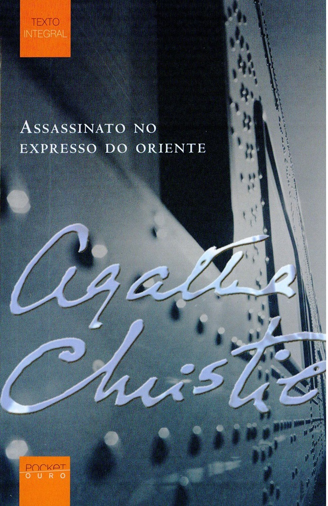 assassinato no expresso do oriente - capa