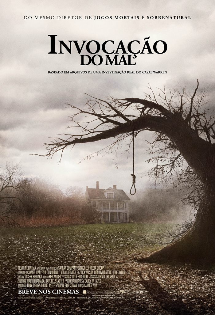 the conjuring - poster