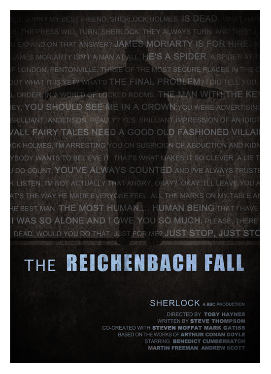 Review | Sherlock S02 E03 - The Reichenbach Fall