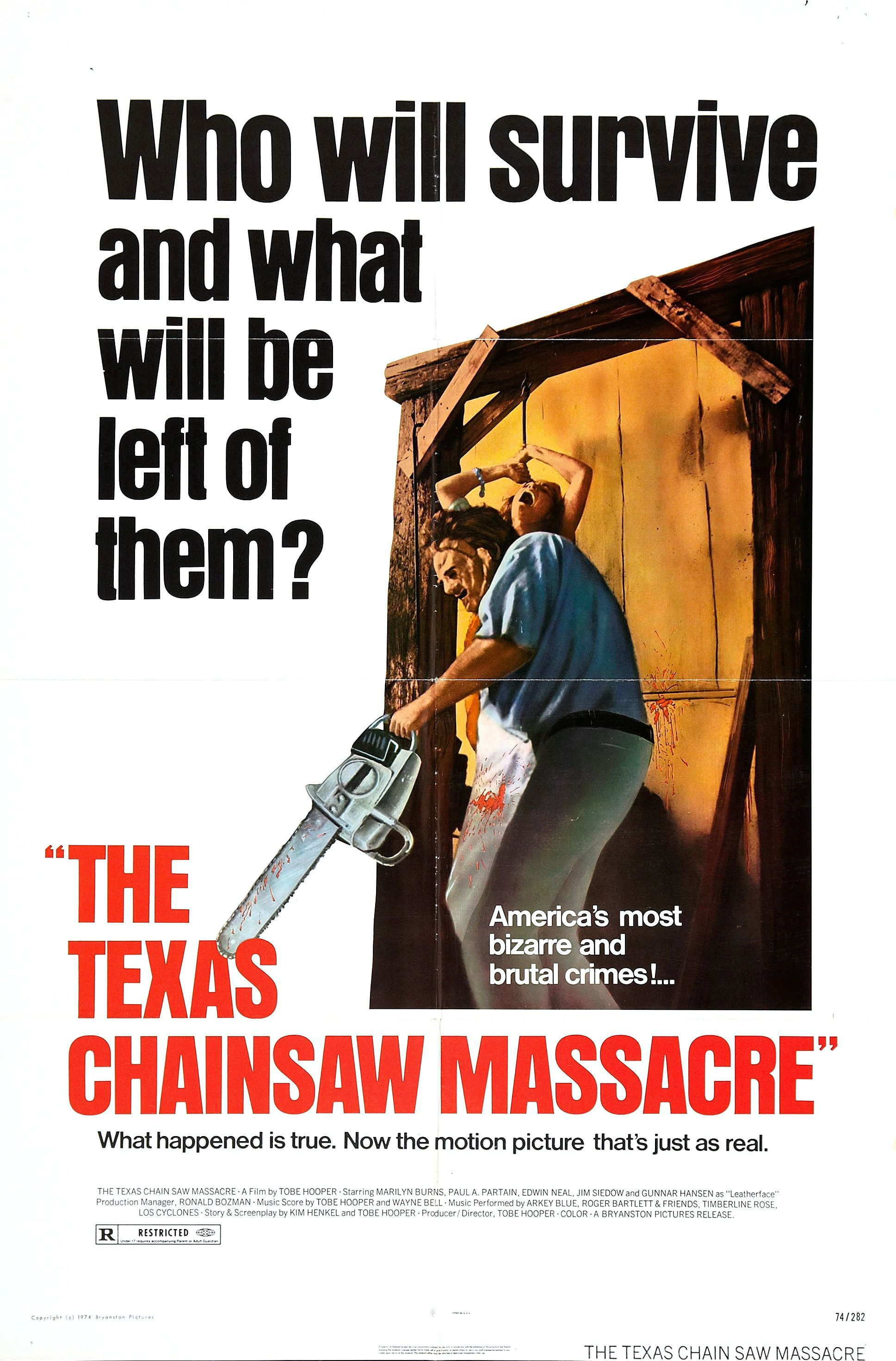 Texas Chainsaw Massacre - classic poster