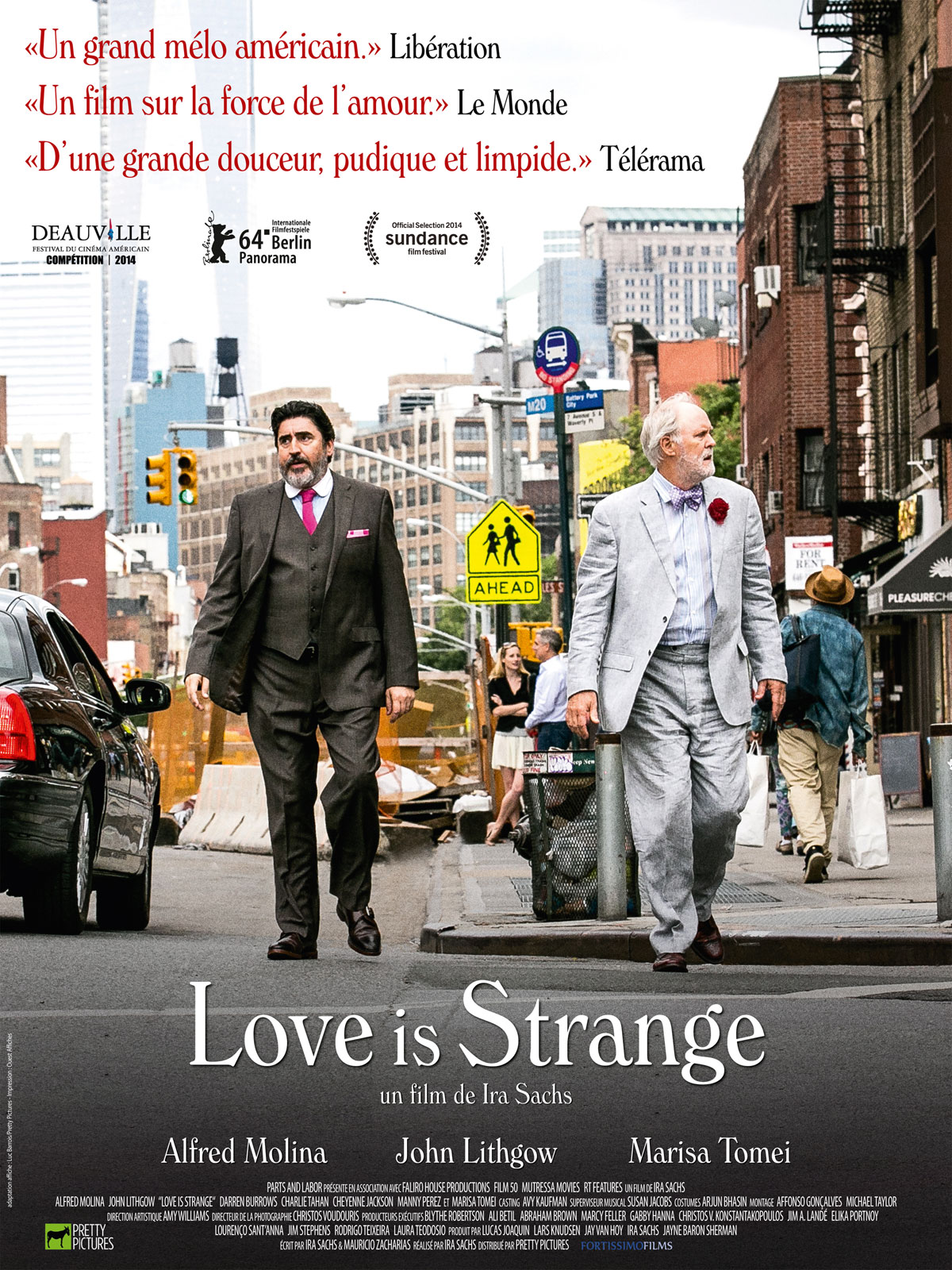 O Amor é Estranho - Love is Strange - Poster Internacional