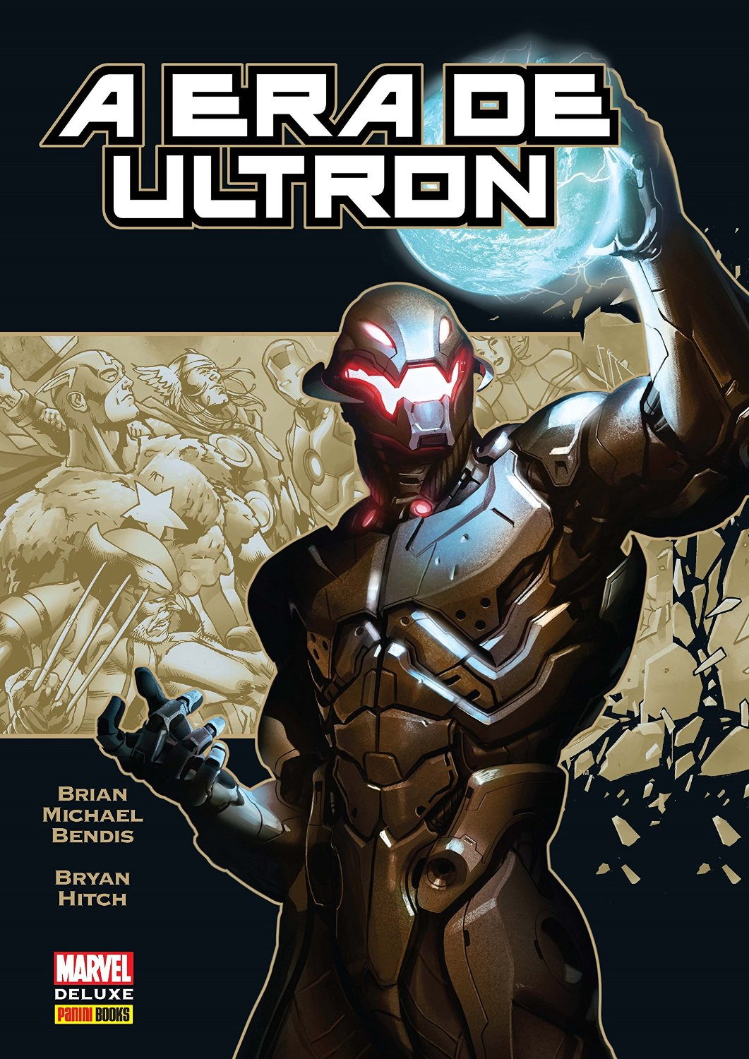 A Era de Ultron - Marvel Deluxe - Panini Comics