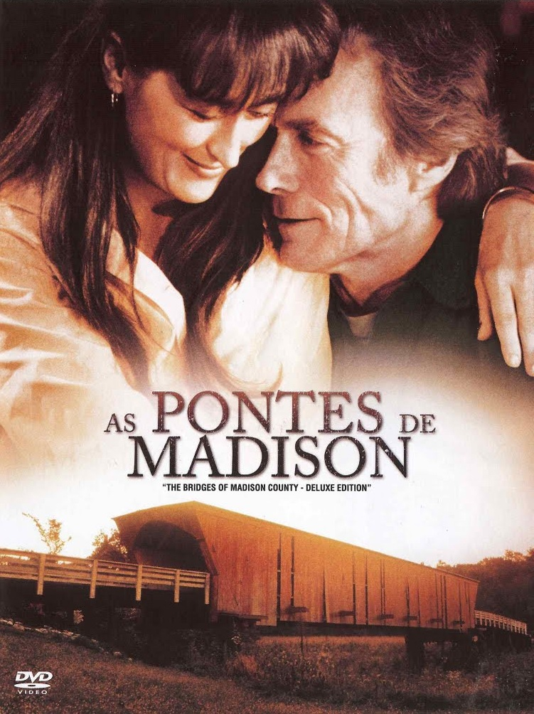 As Pontes de Madison - Dvd - Capa