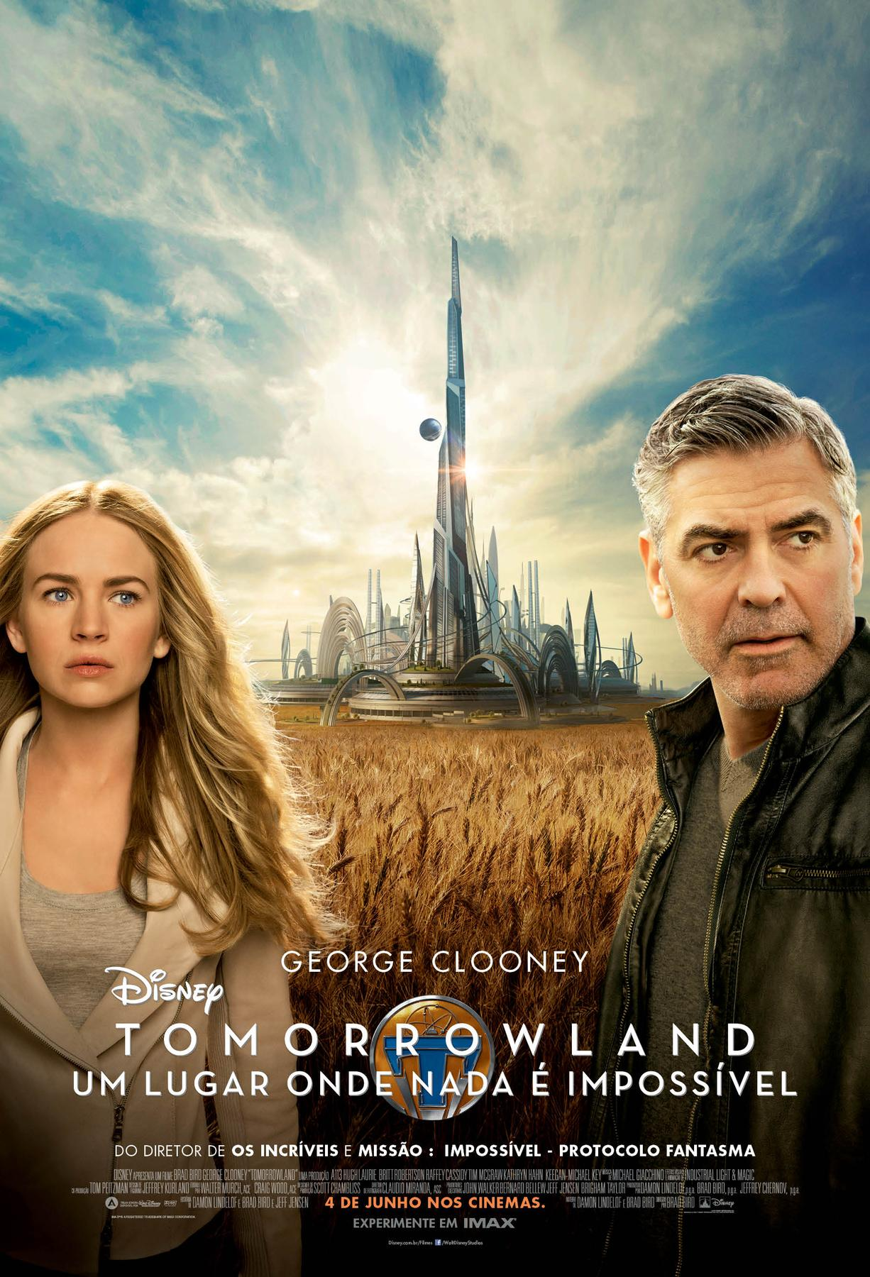 Tomorrowland - poster br