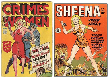 crimes woman e sheena