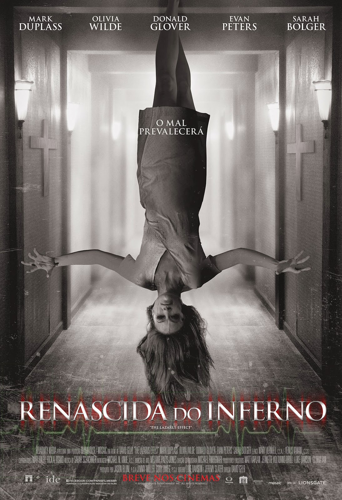 Renascida do Inferno - Poster