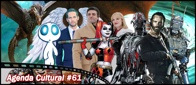 Agenda Cultural 61 | Vingadores 2, Game of Thrones e Walking Dead
