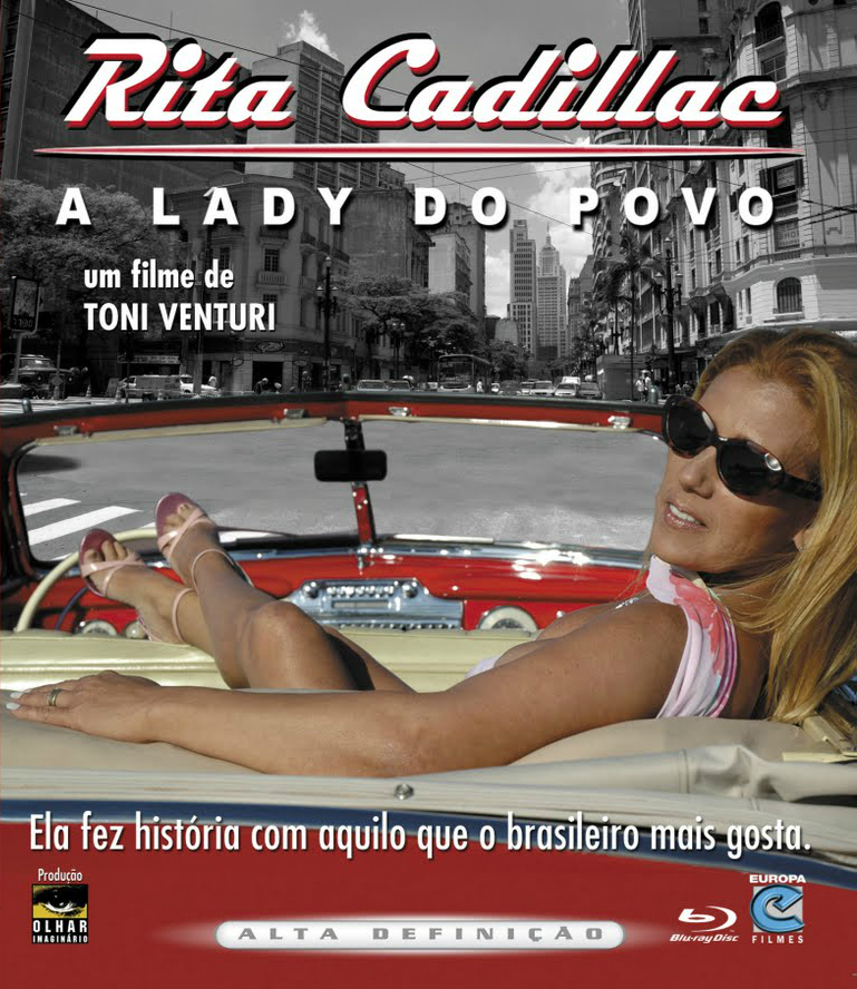 Rita Cadillac - A Lady Do Povo - capa - blu ray