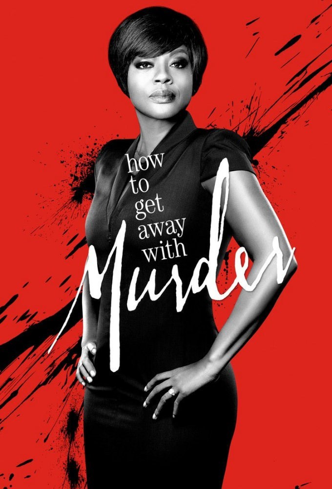 How To Get Away With Murder - 1a temporada - poster