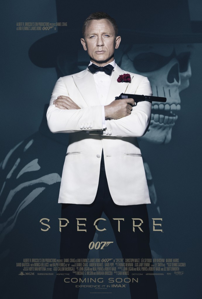 007 Contra Spectre - poster