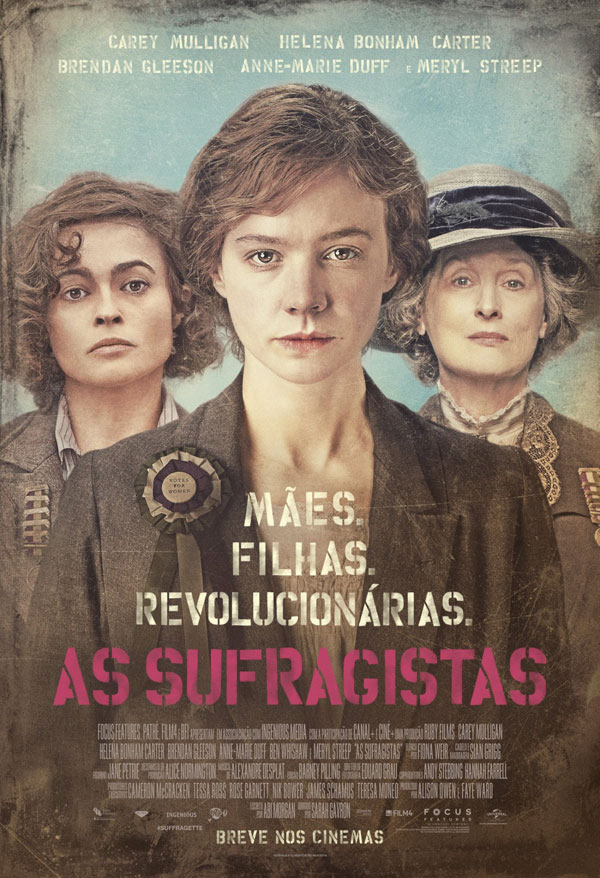 As Sufragistas - Poster