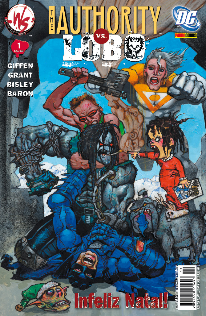 Resenha | The Authority Vs. Lobo: Infeliz Natal!