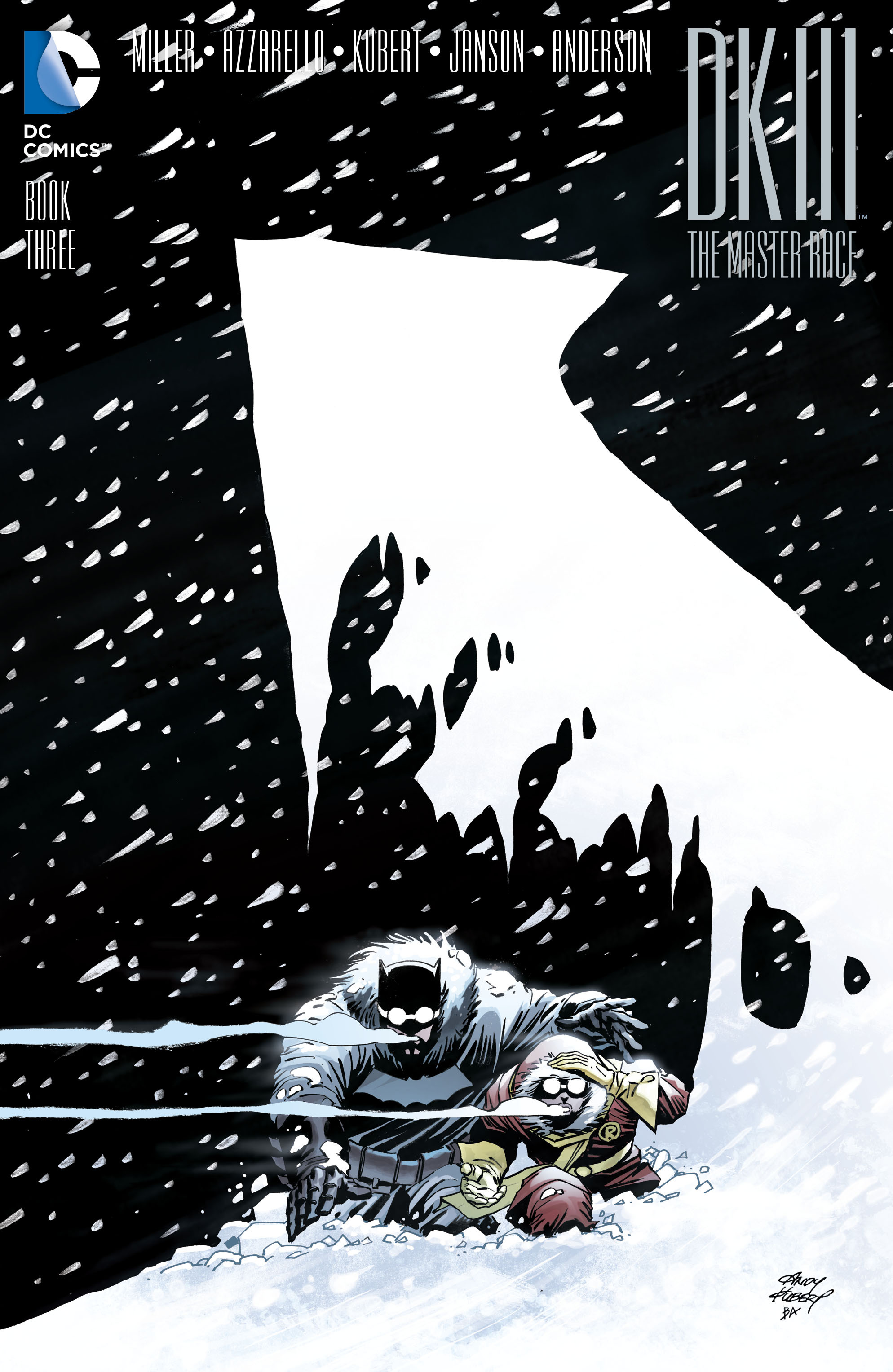 Dark Knight III - The Master Race 3 - cover