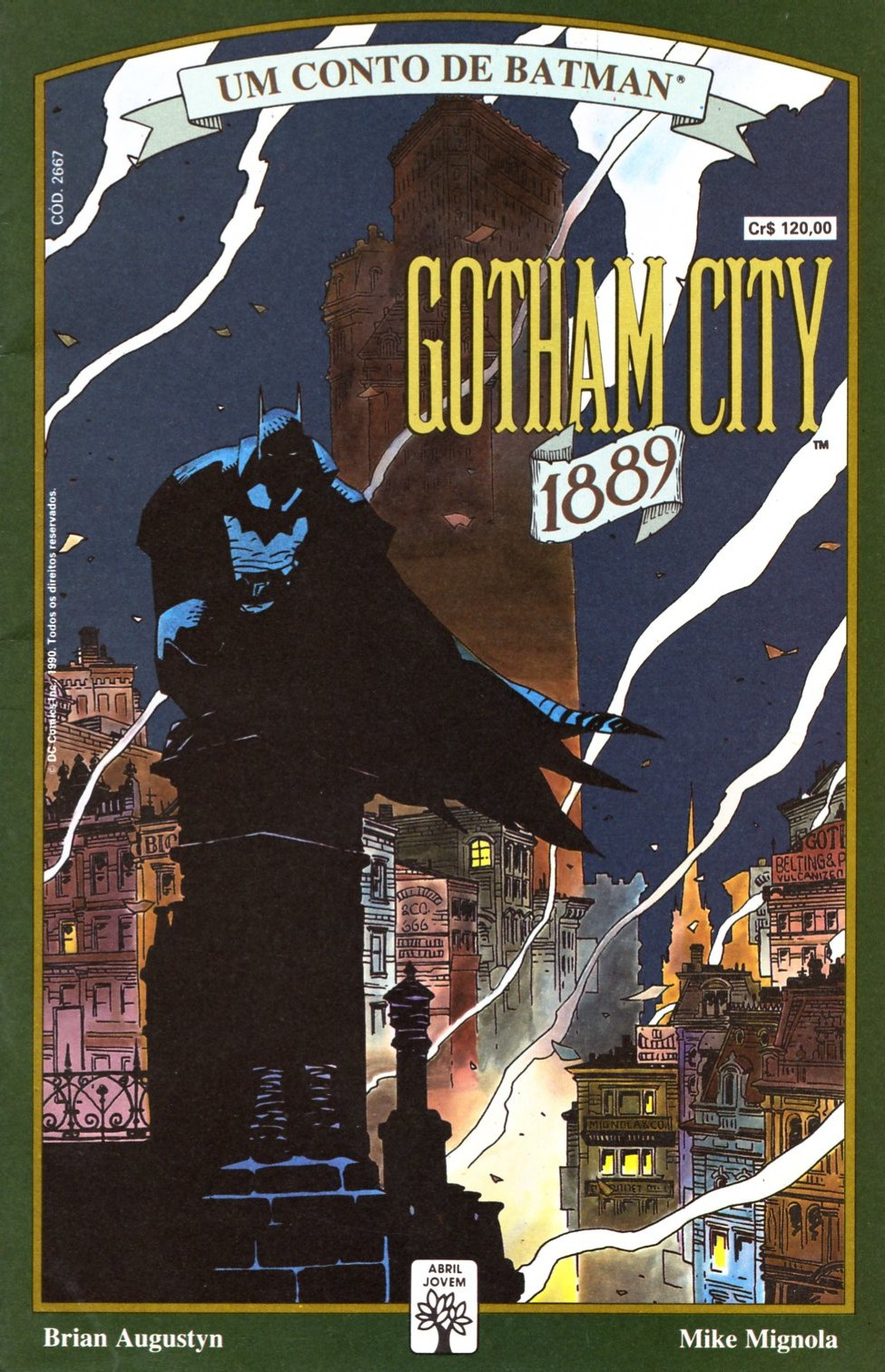 Resenha | Batman: Gotham City 1889