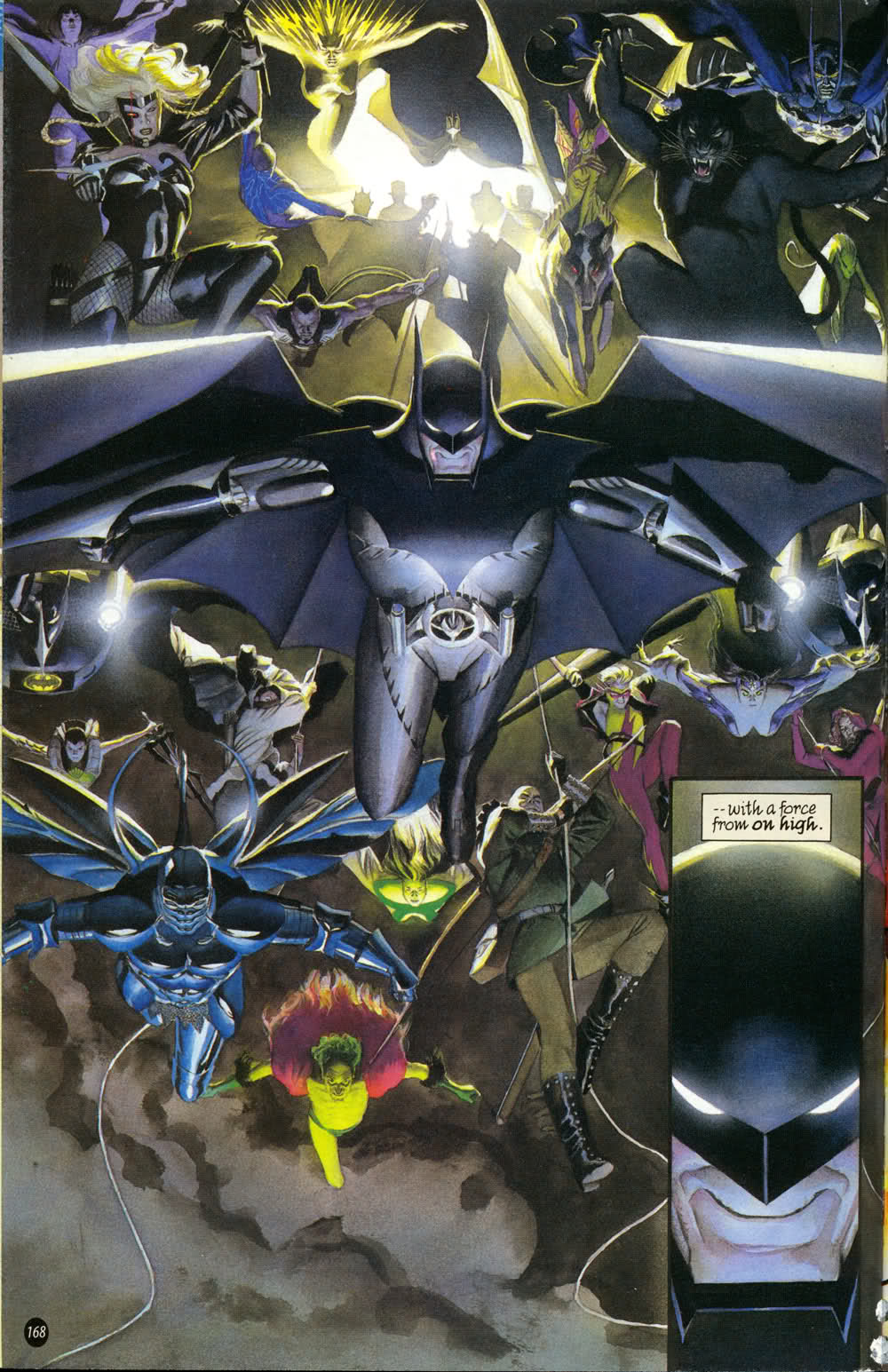 kingdom come batman vortex