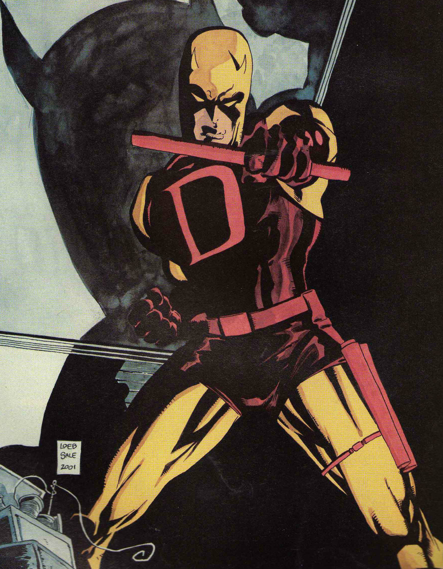 Daredevil - Yellow - Tim Sale