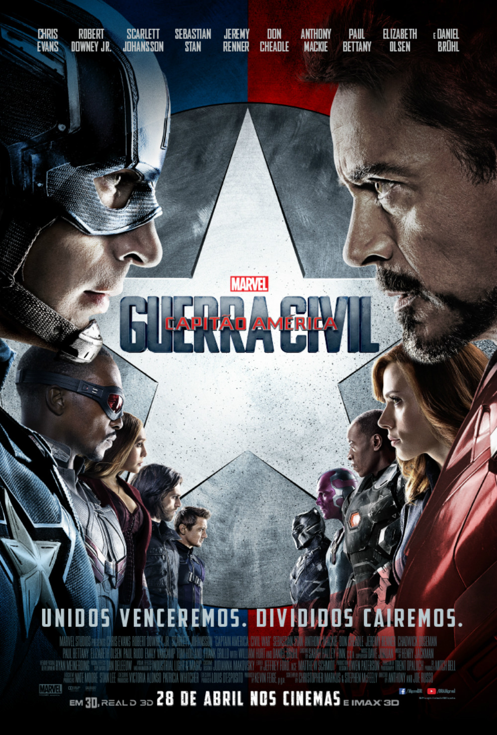 Capitao America - Guerra Civil