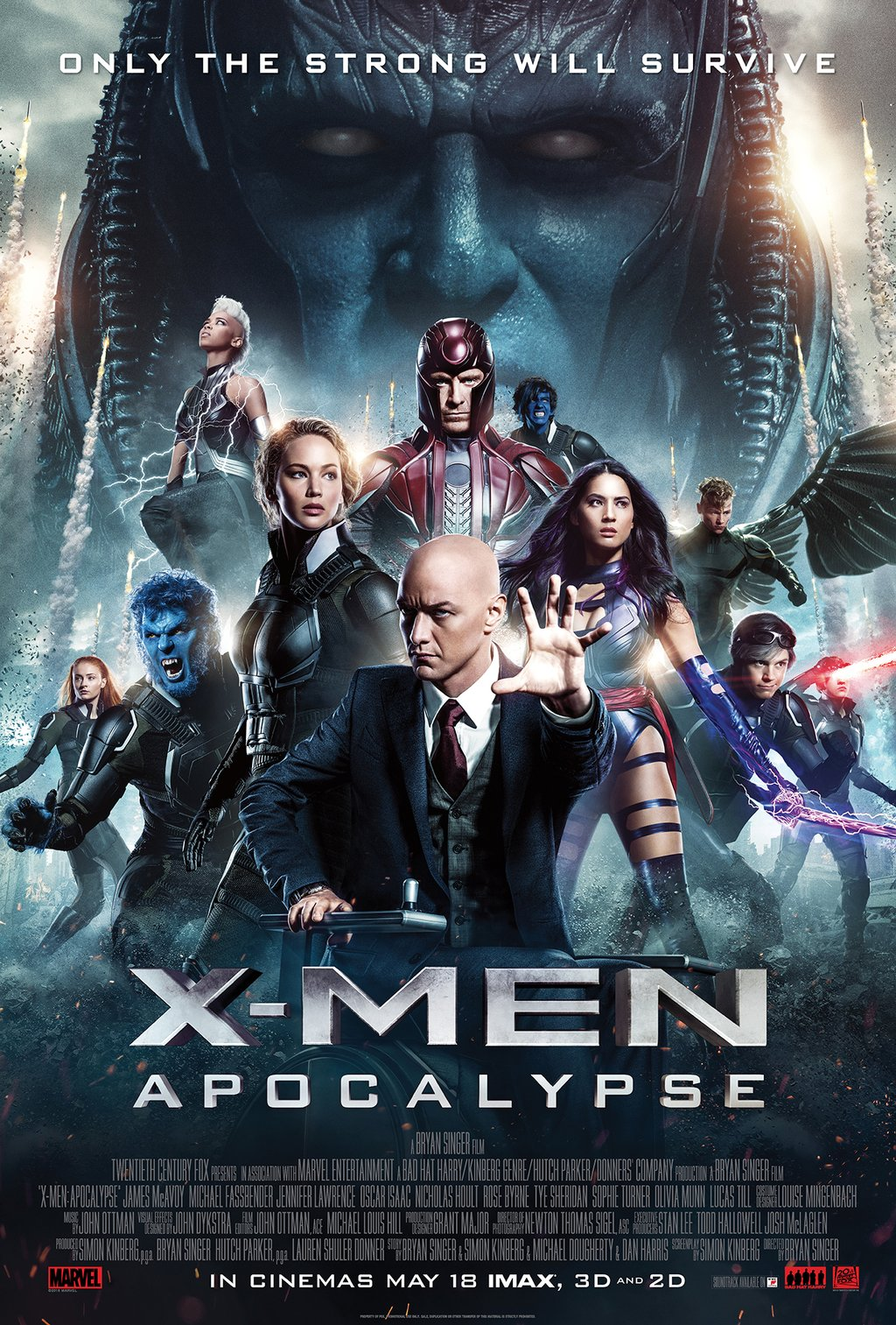 x-men apocalipse poster