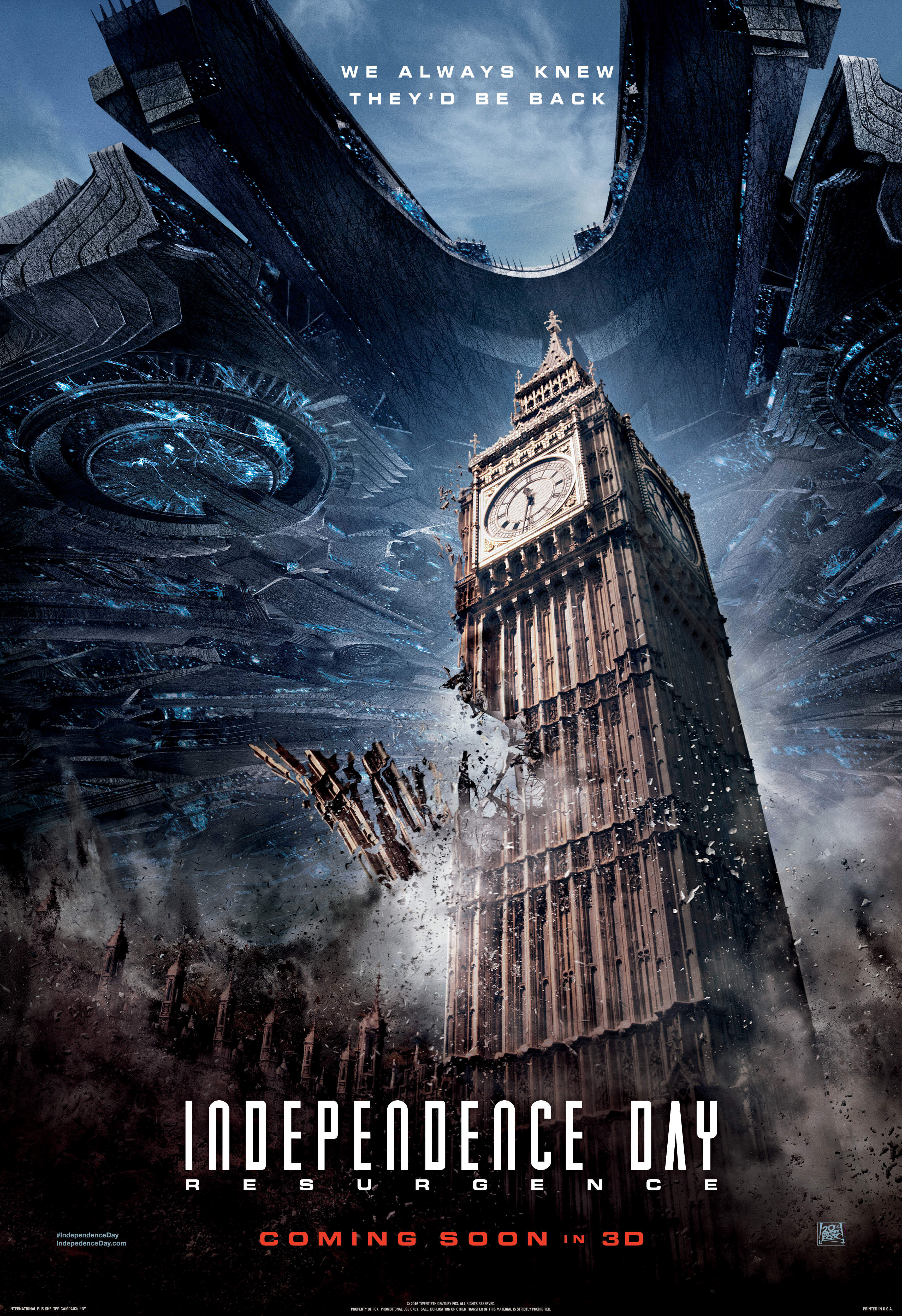 Independence Day - O Ressurgimento - poster