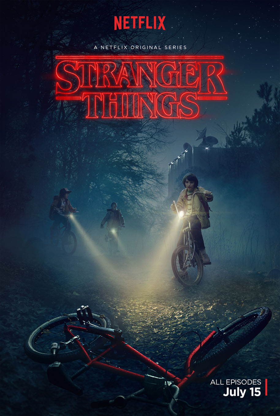 Stranger Things - poster - Netflix
