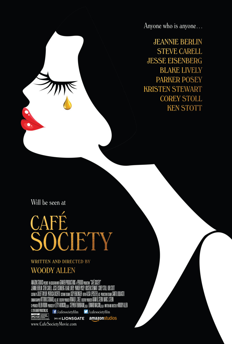 Cafe Society - poster