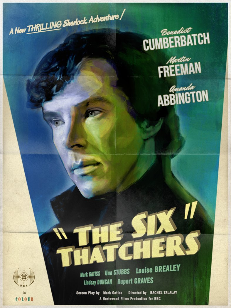 Review | Sherlock S04 E01 – The Six Thatchers