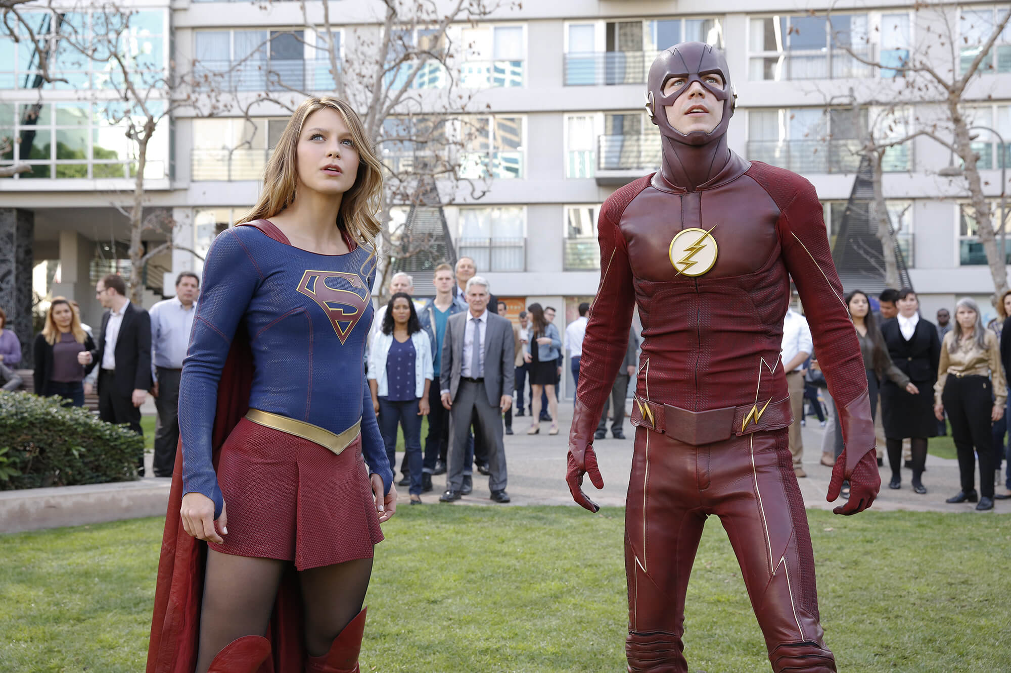 Flash e Supergirl: O Crossover Musical