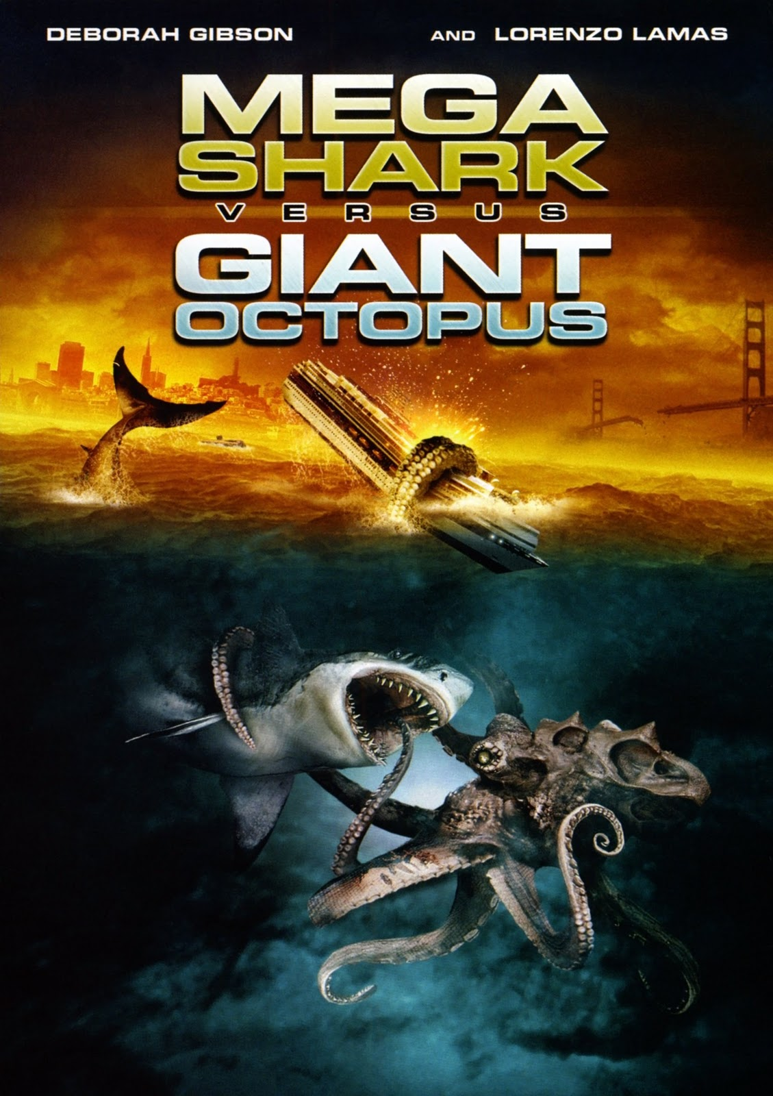 [Crítica] Monstros Marinhos (Mega Shark vs Giant Octopus)