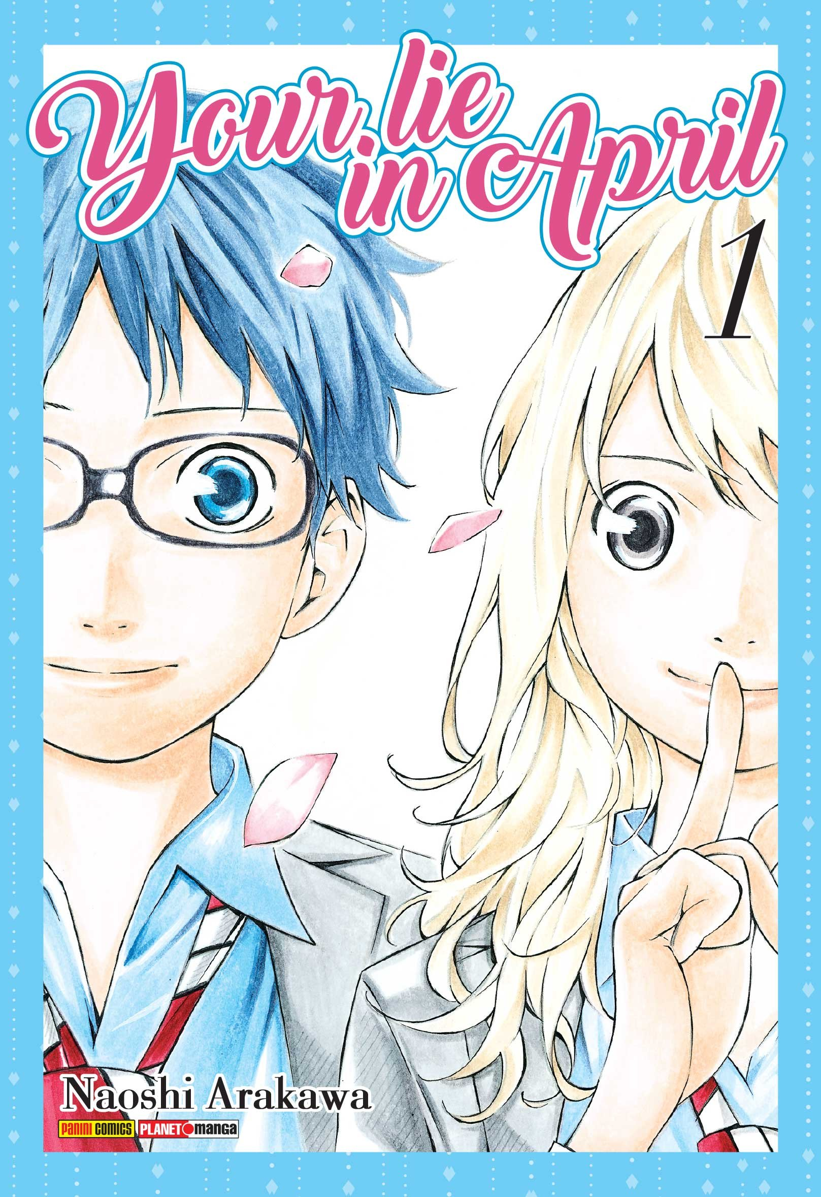 Resenha | Your lie in April #1