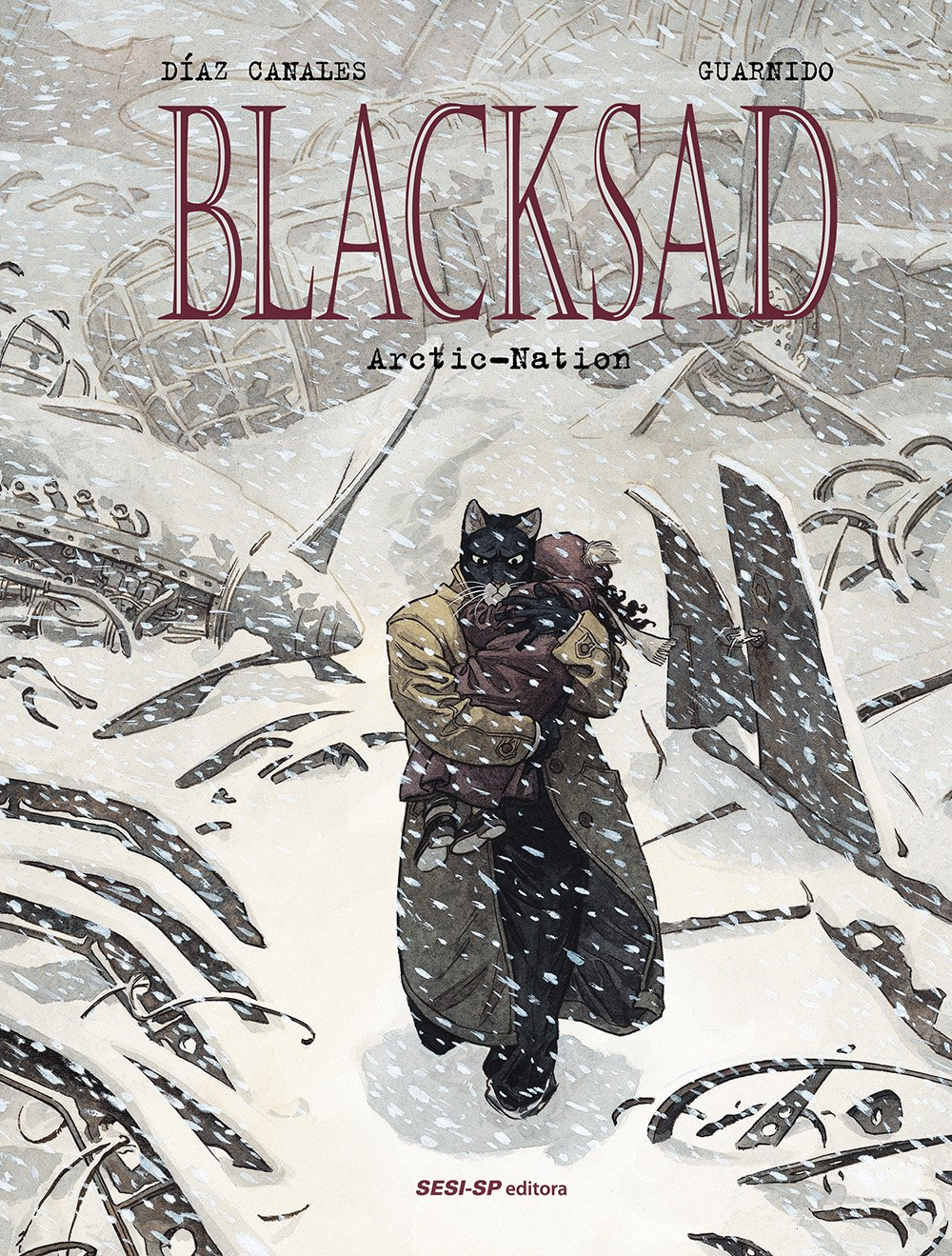 Resenha | Blacksad: Arctic-Nation
