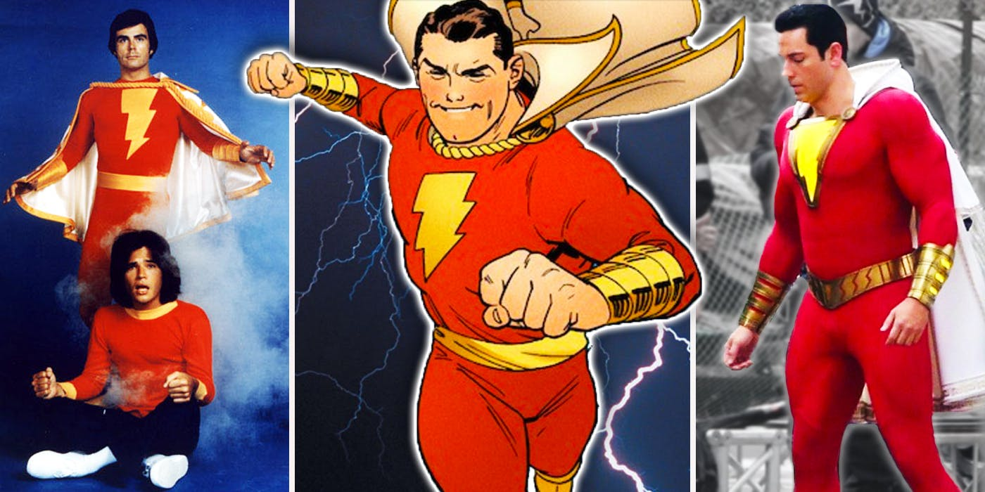 Shazam | As Aparições do Capitão Marvel Original no Audiovisual