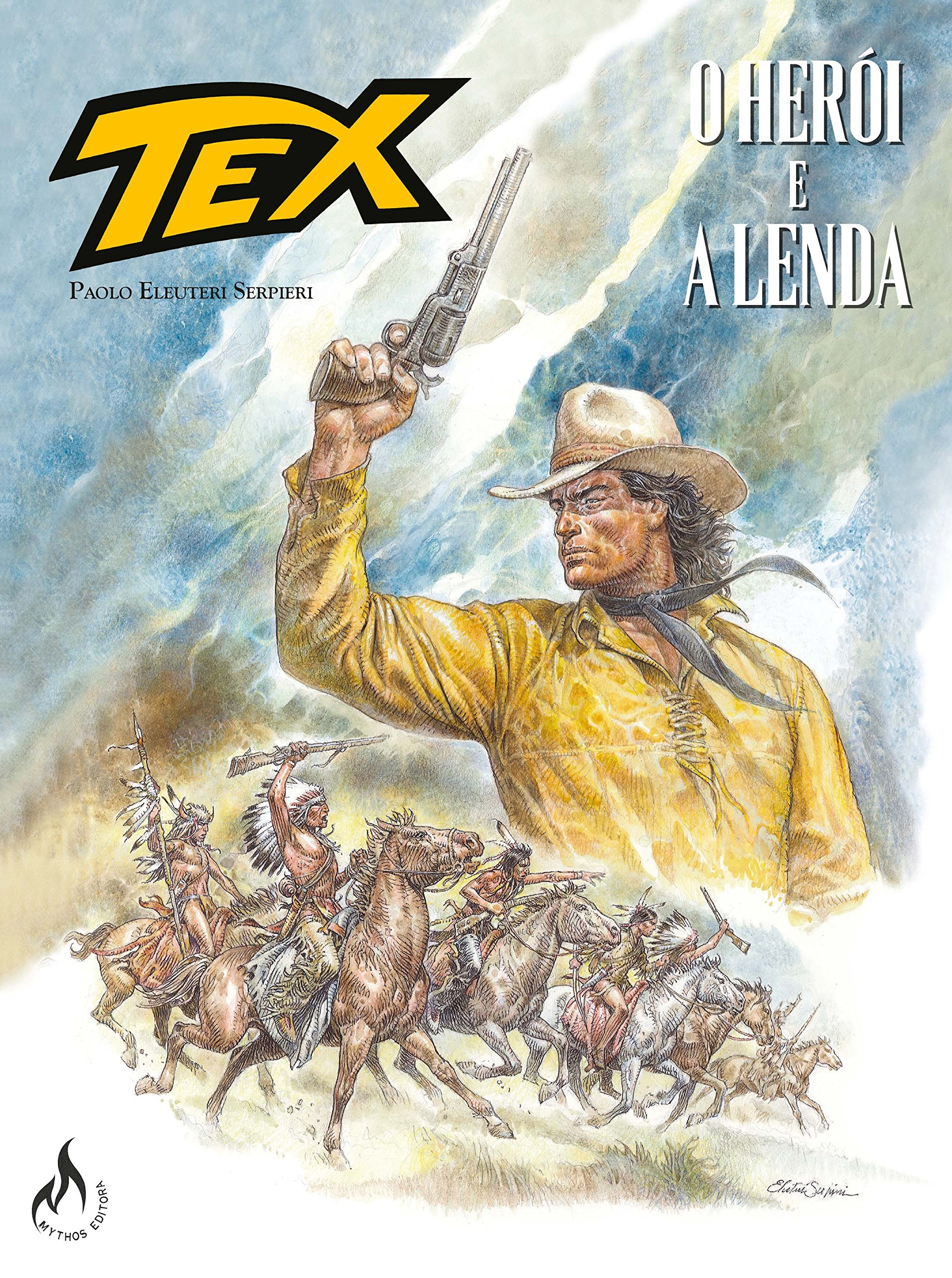 Resenha | Tex Graphic Novel - Volume 1: O Herói e a Lenda
