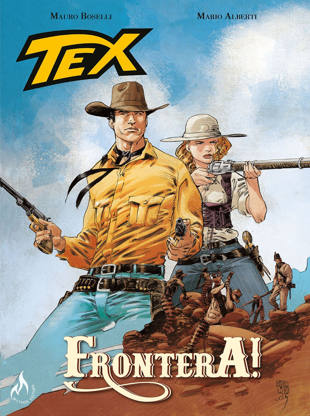 Resenha | Tex Graphic Novel: Frontera! – Volume 2
