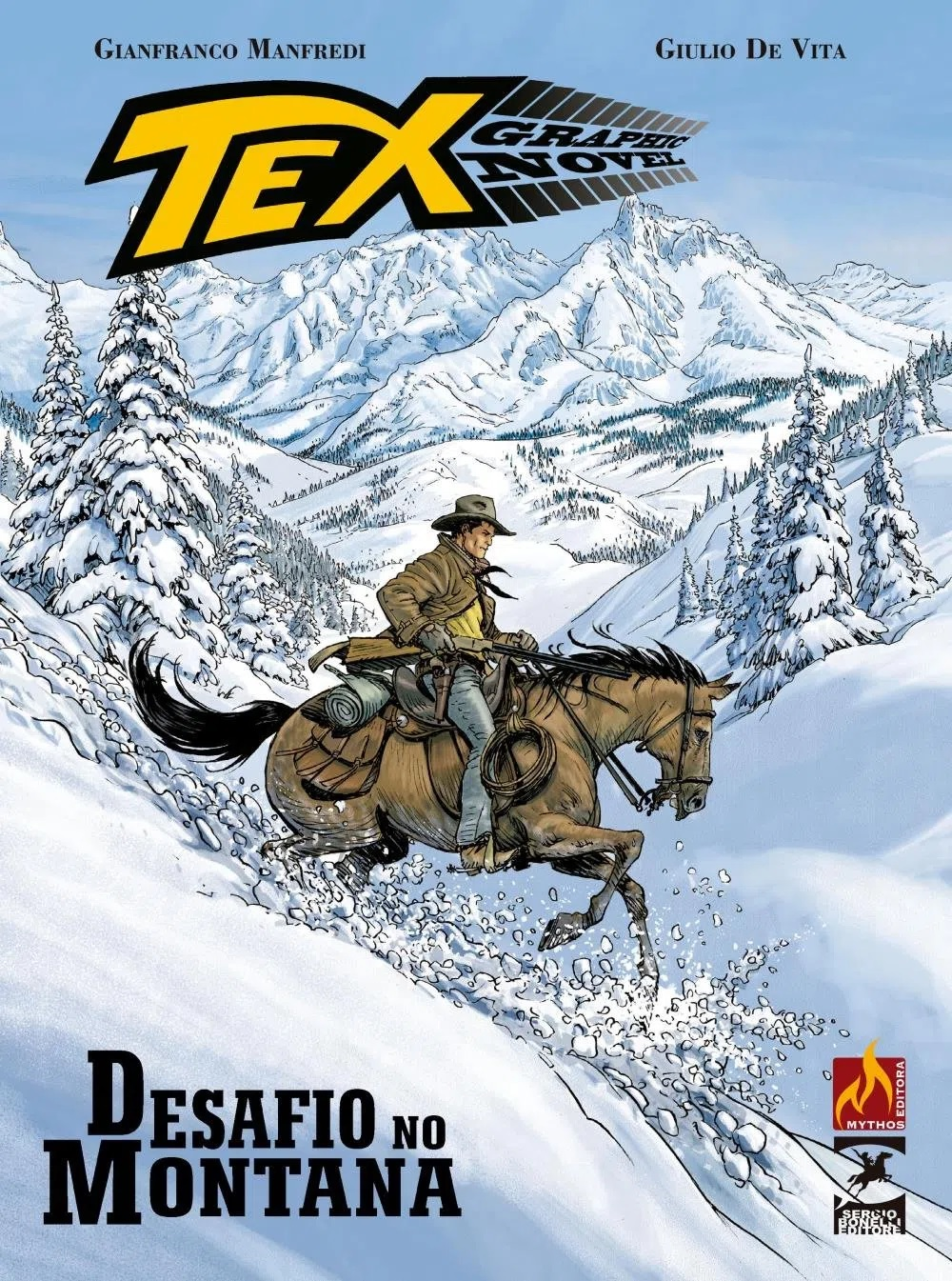 Resenha | Tex Graphic Novel: Desafio no Montana – Volume 4