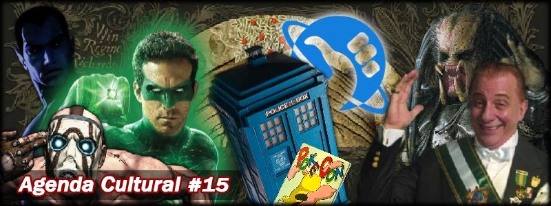 Agenda Cultural 15 | Predadores e Doutores Interplanetários. Não entre em Pânico!