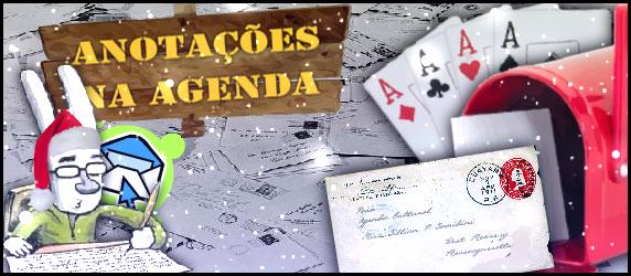 Anotações na Agenda 13 | Especial de Natal