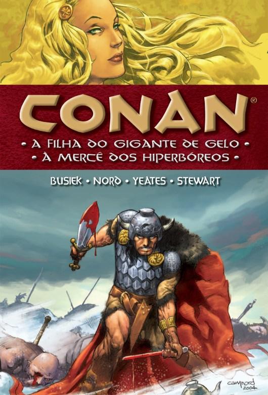 Resenha | Conan: A Filha do Gigante de Gelo e À Mercê dos Hiperbóreos