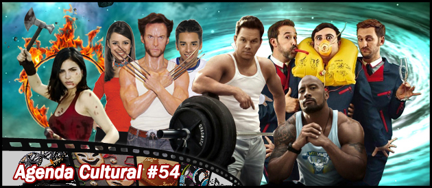 Agenda Cultural 54 | Zumbis Cubanos, Mutantes Imortais e Robôs Gigantes
