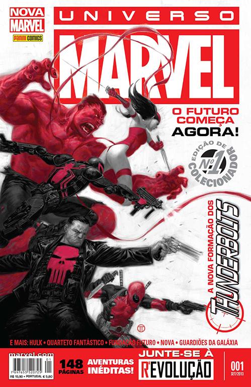 Resenha   Universo Marvel – Vol. 1
