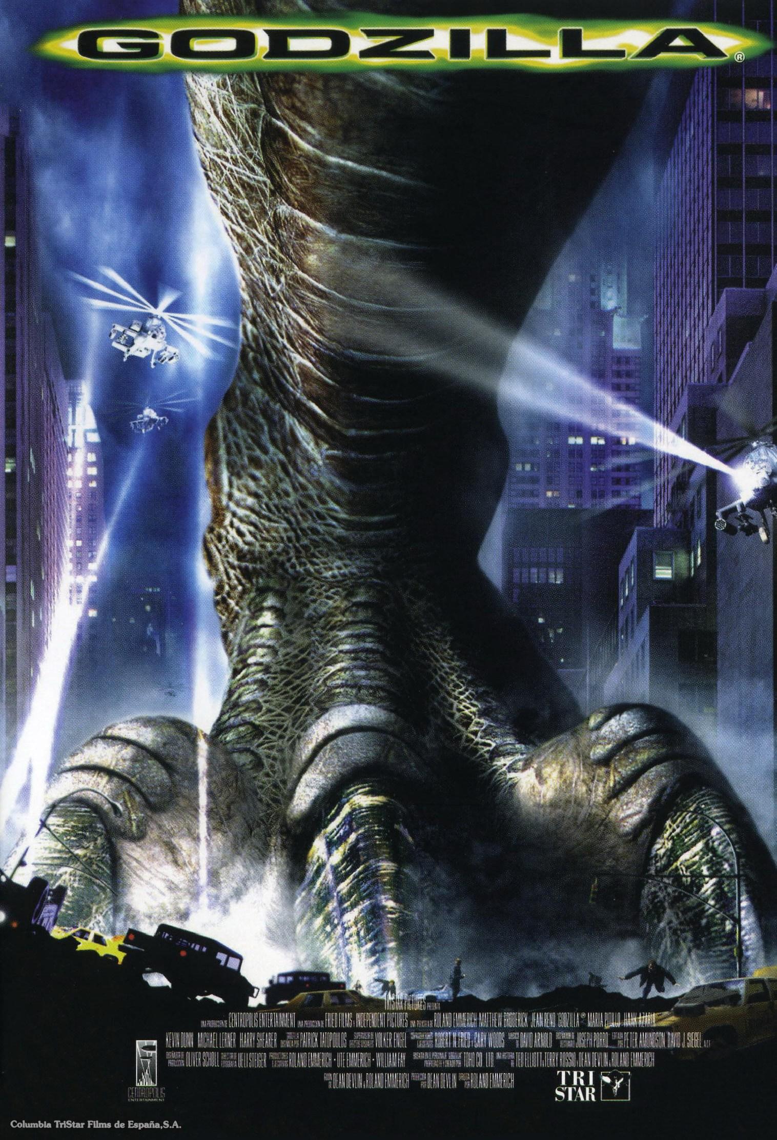 Crítica   Godzilla (1998)