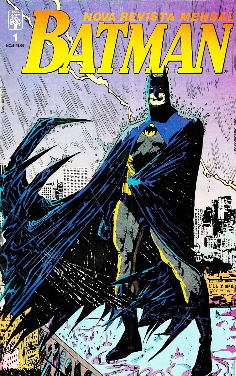 Resenha |  Batman Nº 1 (Abril Jovem – 3ª série)