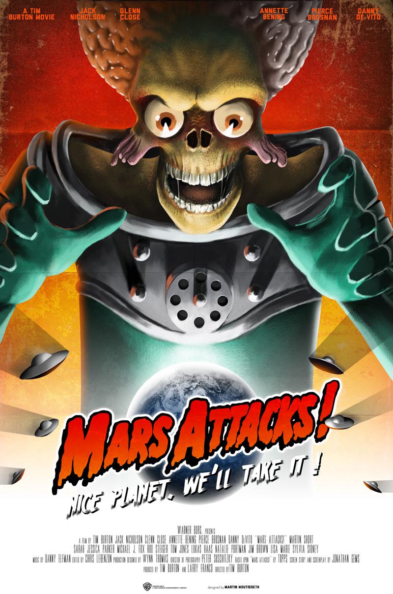 Crítica | Marte Ataca!