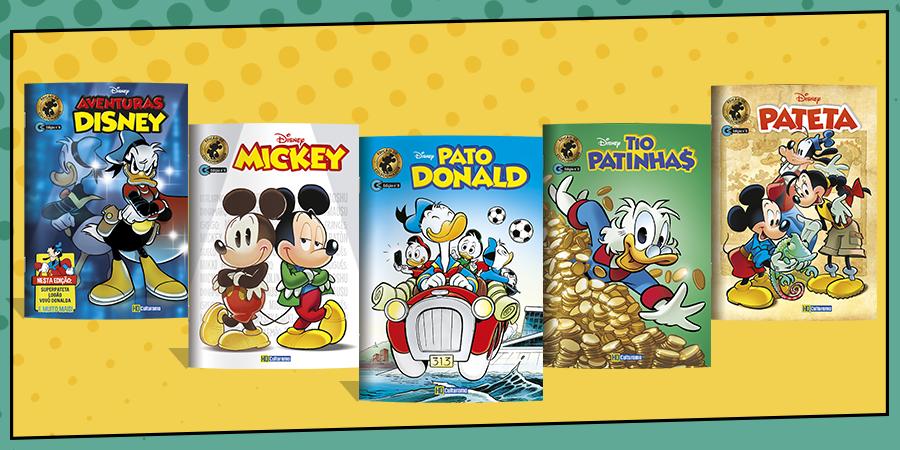 Culturama e os Novos Quadrinhos Disney