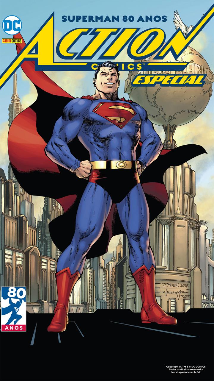 Resenha   Superman 80 Anos: Action Comics Especial