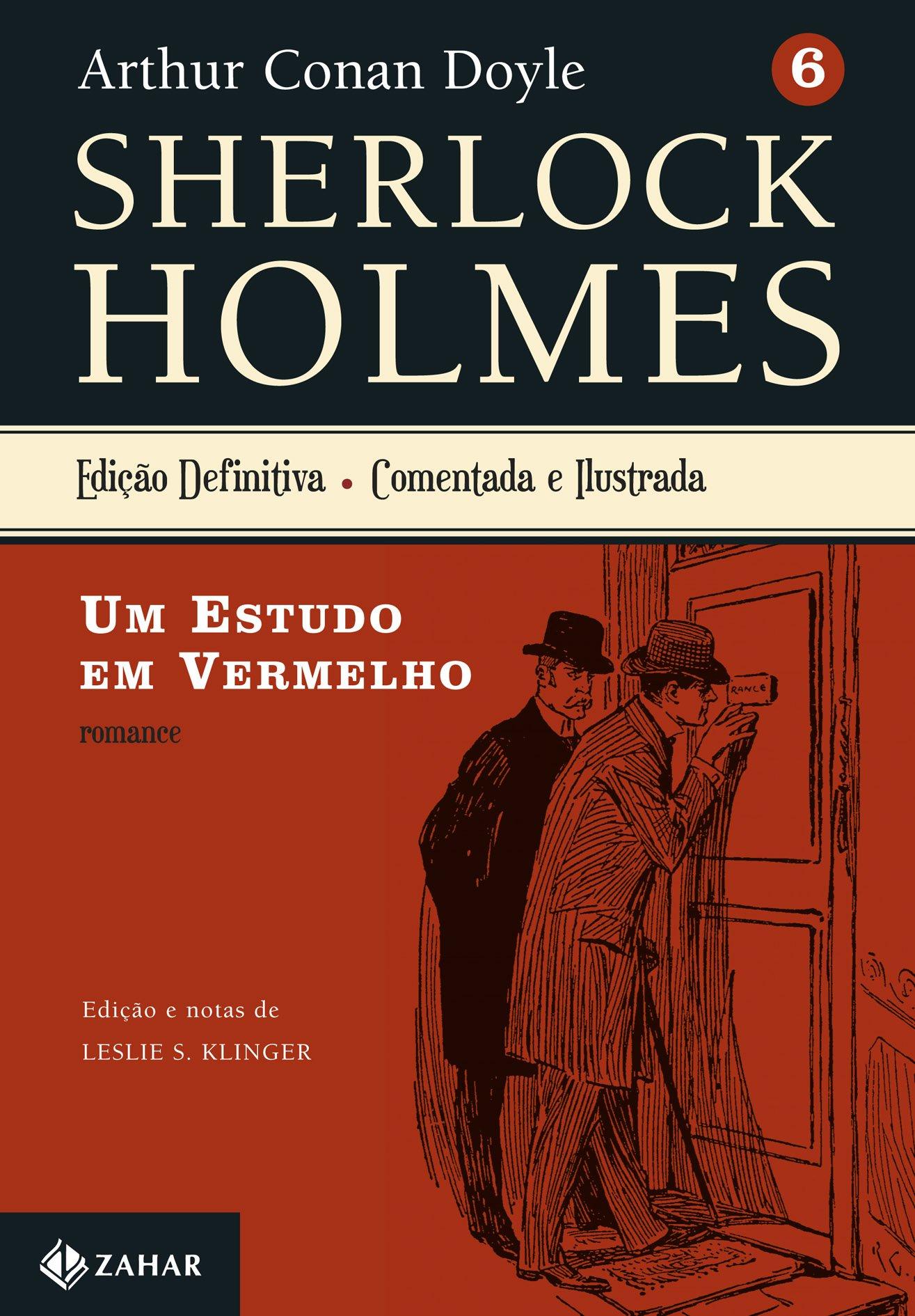 Resenha | Sherlock Holmes: Um Estudo em Vermelho – Arthur Conan Doyle