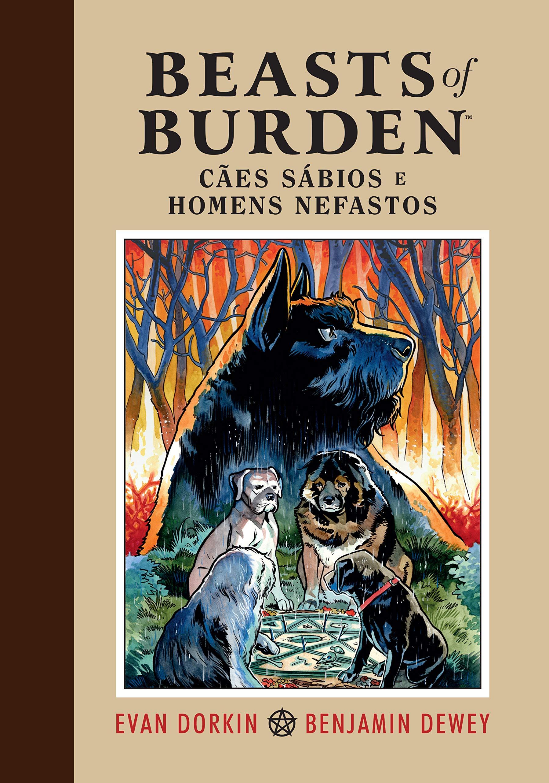 Resenha | Beasts of Burden: Cães Sábios e Homens Nefastos