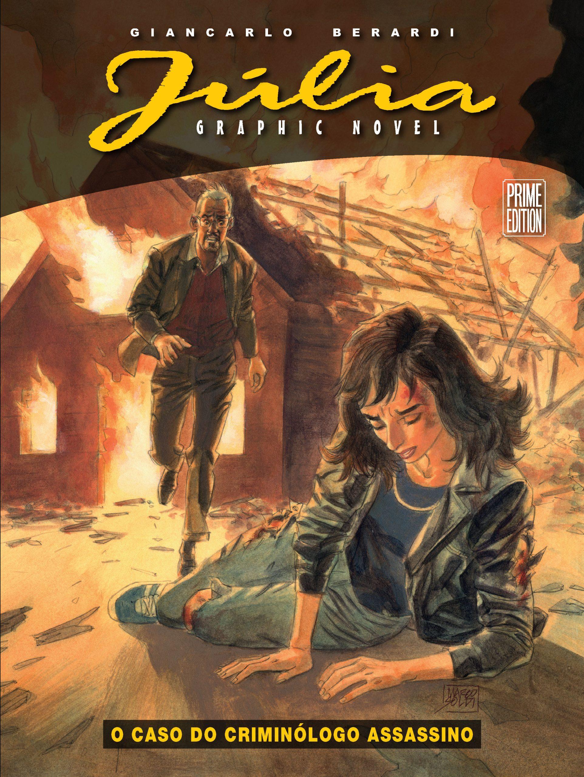 Resenha | Júlia Graphic Novel: O Caso do Criminólogo Assassino